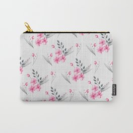 Floral (Pattern 2) Carry-All Pouch