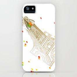 La tour eiffel 2 iPhone Case