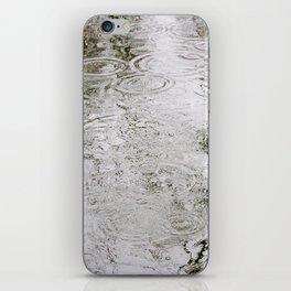 Rain Ripples iPhone Skin