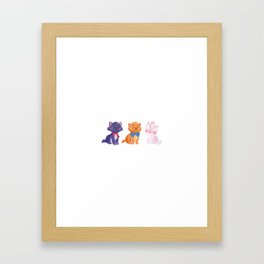 Once upon a time Aristocats Framed Art Print