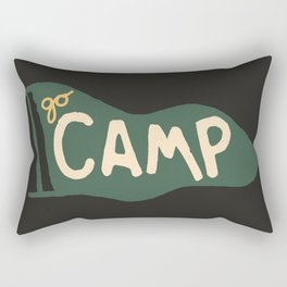 Go Camp... Rectangular Pillow