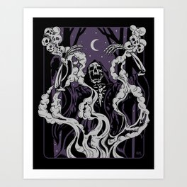 Conjuring Art Print