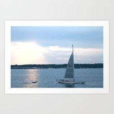 Narragansett Bay I Art Print
