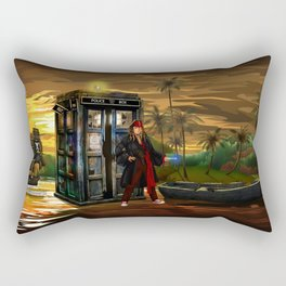 10th Doctor who Lost in the pirates age iPhone 4 4s 5 5s 5c, ipod, ipad, pillow case and tshirt Rectangular Pillow