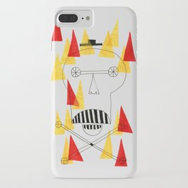 Flaming Skull iPhone Case