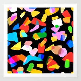 so many shapes Art Print