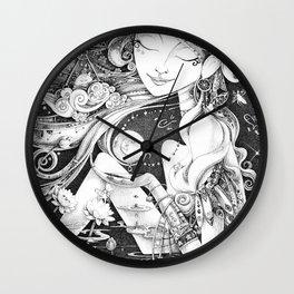 Ma Bella Luna Wall Clock
