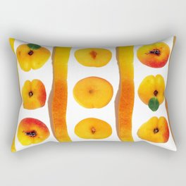 Fruit Apricot3 Rectangular Pillow