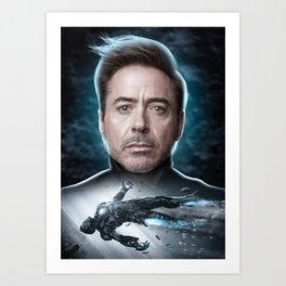 Iron Man Tony Stark Art Print