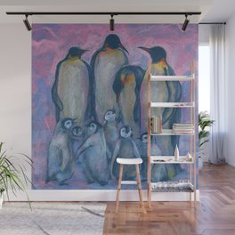 Emperor Penguins, Antarctic Winter Wall Mural