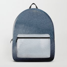 In Blue Backpack
