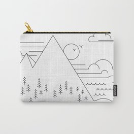 Line work landscape Carry-All Pouch