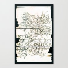 Autistic Remix #003 Canvas Print