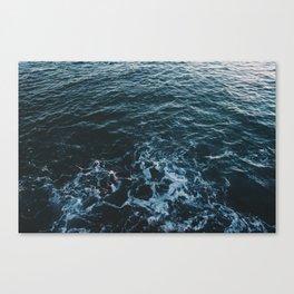 Dark #Sea Canvas Print