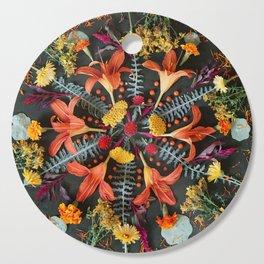 Nature Mandala: July Cutting Board