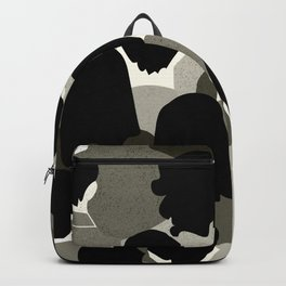 The Monotone Crowd Backpack