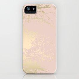Gold Blush iPhone Case