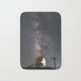 Milky Way over Mount Laguna Observatory 2 Bath Mat