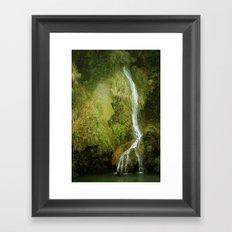 Li River Waterfall Framed Art Print