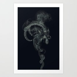BlackPhillip /Reborn Art Print