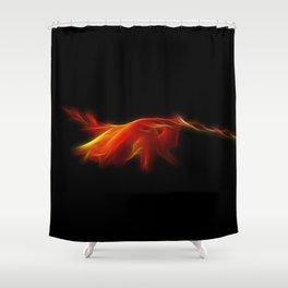 Monbretia Shower Curtain
