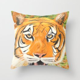 L'amour couleur d'automne Throw Pillow