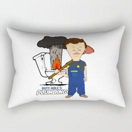Butt-Hole's Plumbing Rectangular Pillow