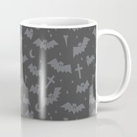 bats Mugs featuring Bats by Sil Elorduy