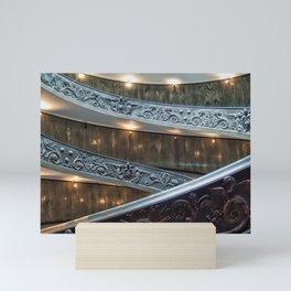 Vatican Spiral Staircase Mini Art Print
