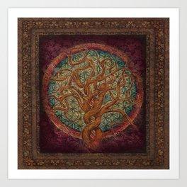 The Great Tree Art Print