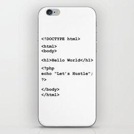 Hello World iPhone Skin