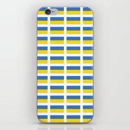 Flag of Ukraine -Ukrainian,Україна, Ucrania,kiev,sevastopol iPhone Skin