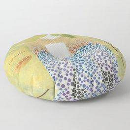 Raven Geisha Floor Pillow