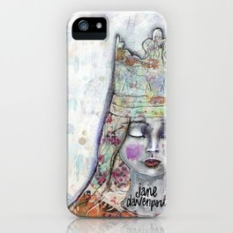 Butterfly Crown by Jane Davenport iPhone Case
