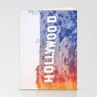 hollywood Stationery Cards featuring Hollywood by Laura Ruth
