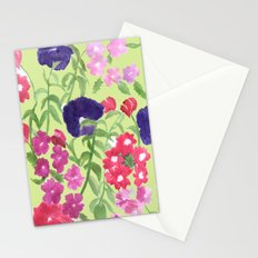 Floral Print Stationery Cards