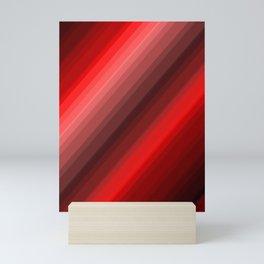 Red Now Mini Art Print