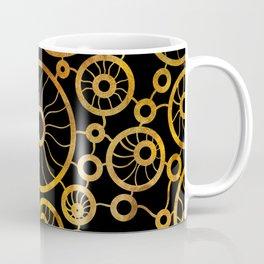 Sunflower Field Pattern Coffee Mug