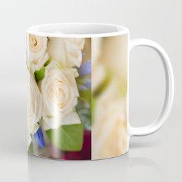 Ecru roses wedding bouquet Coffee Mug