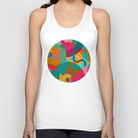picasso Tank Tops featuring Pattern Picasso by Tony Vazquez