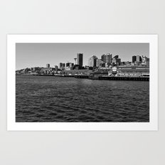 On the Waterfront Art Print
