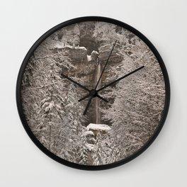 Pericnik Falls Wall Clock