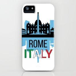 Rome Italy iPhone Case