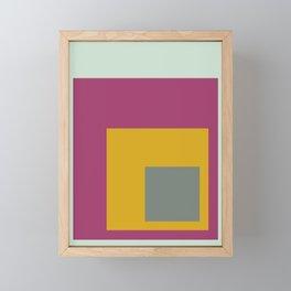 Color Ensemble No. 6 Framed Mini Art Print