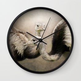 Behind every man there's a great woman....!!! Wall Clock
