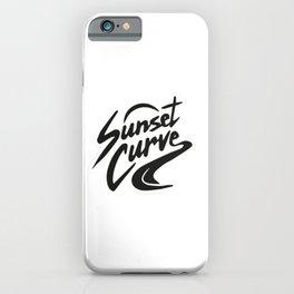 Sunset curve iPhone Case