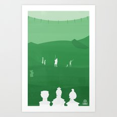 Avatar - Earth Book Art Print