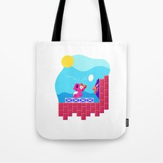 Teeny Tiny Worlds - Super Mario Bros. 2: Birdo Tote Bag