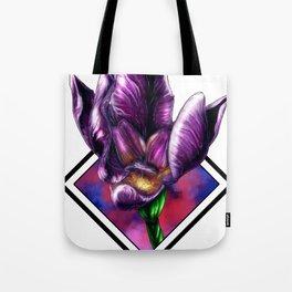 Purple Flora Tote Bag