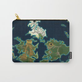 Final Fantasy VII - Shinra Airways World Map Carry-All Pouch